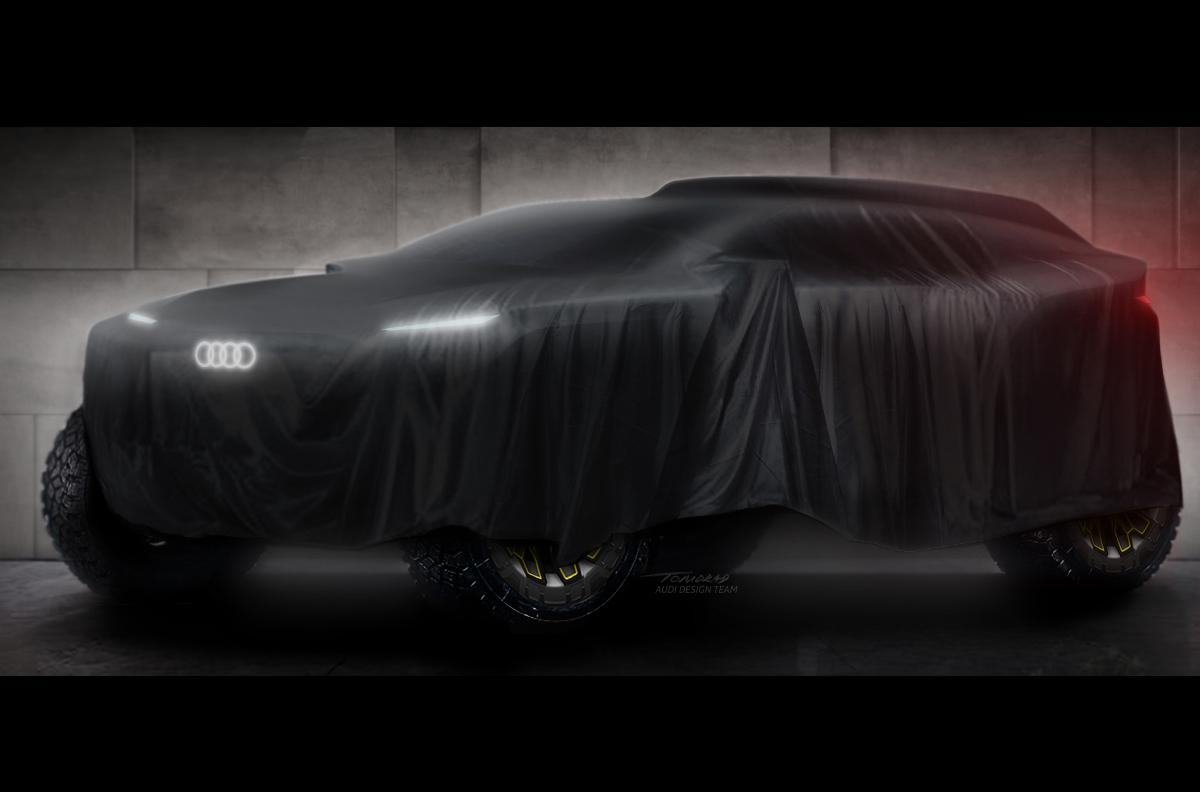 20201201051457 Audi Dakar electric prototype Audi to enter Dakar rally; announces Formula E exit