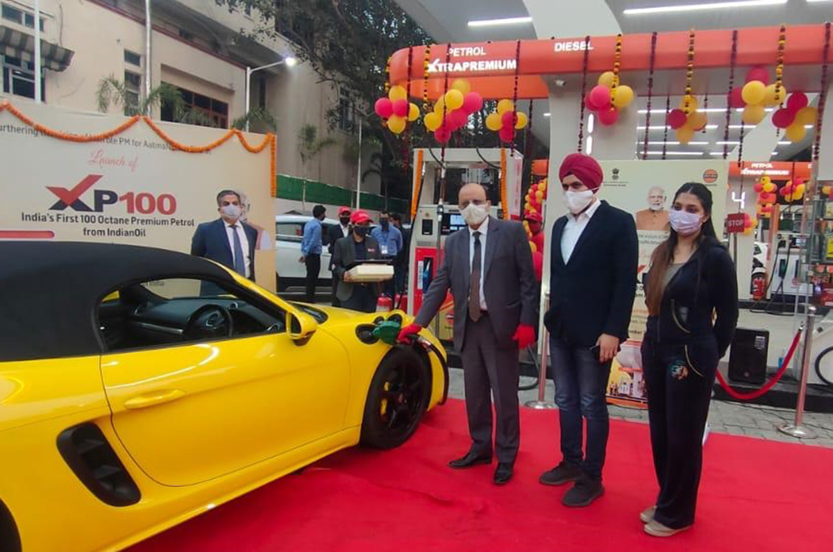 20201201072723 XP100 IOCL Indian Oil launches India's first 100 octane petrol