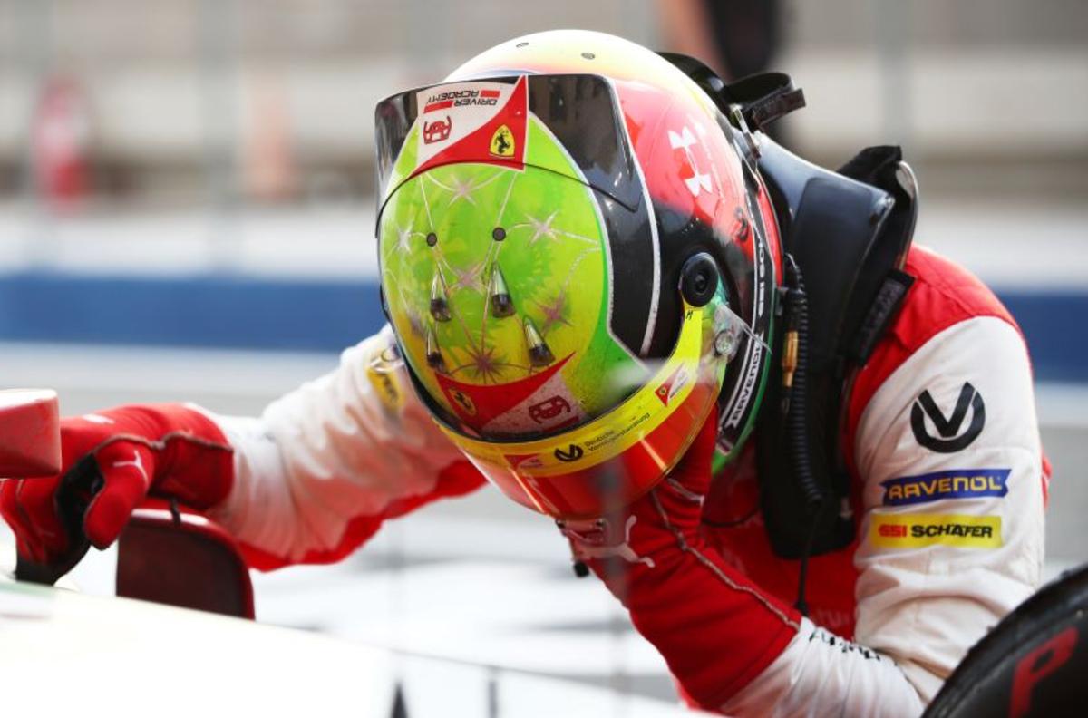 20201206084520 Mick Schumacher F2 champion Daruvala bags maiden F2 win in Bahrain; Mick Schumacher crowned champion