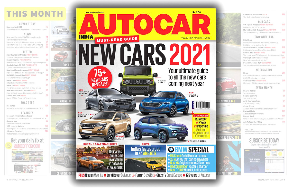 20201207010522 ACI December 2020 Autocar India December 2020 issue now on stands
