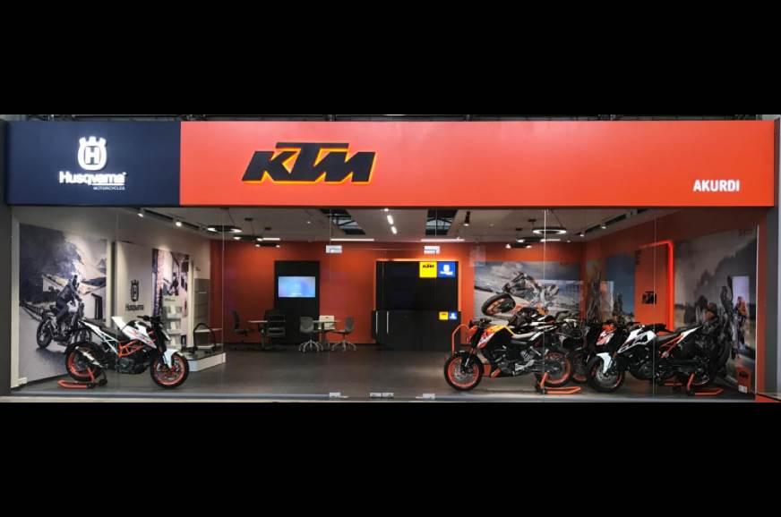 20201207051652 KTM Husky showroom KTM, Husqvarna hike prices across range