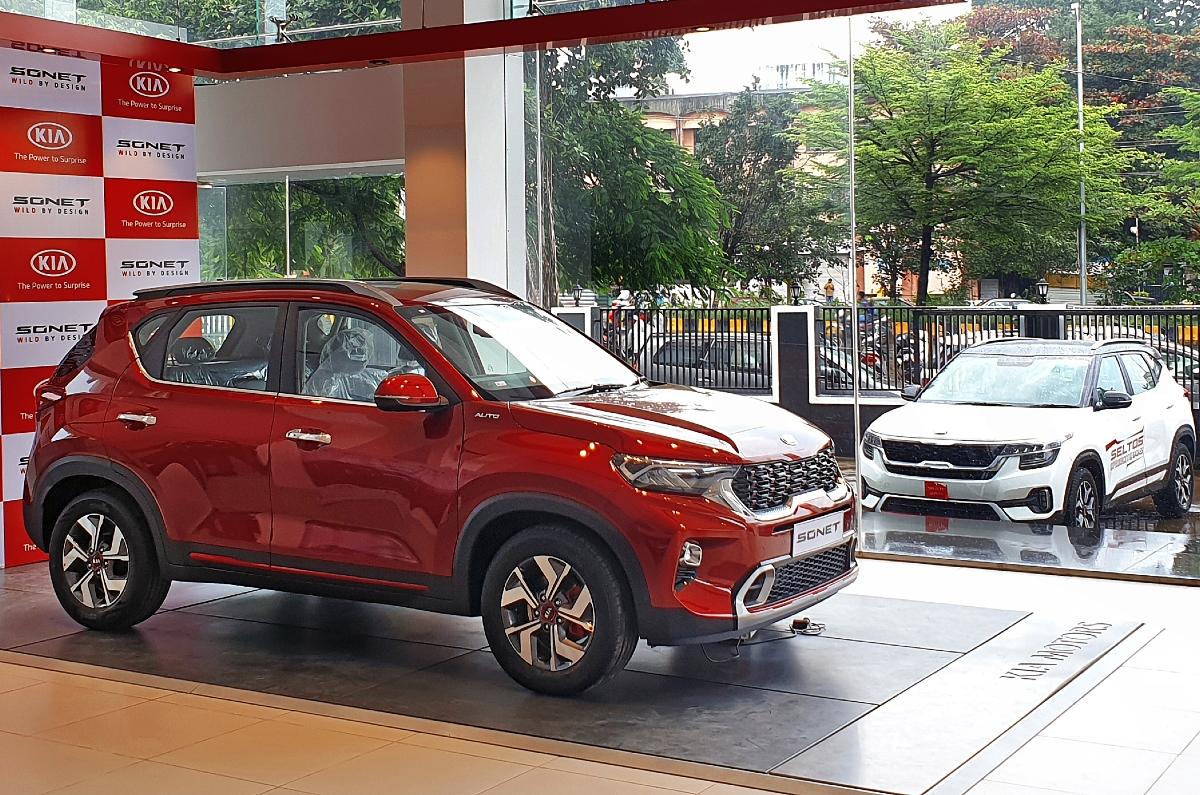 20201214045539 Kia showroom shot Kia, Hyundai and Maruti Suzuki to hike prices in 2021
