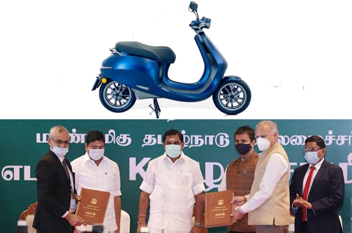 20201215022519 Ola Tamil nadu manufacturing facility Ola to invest Rs 2,400 Crore for electric two-wheeler factory