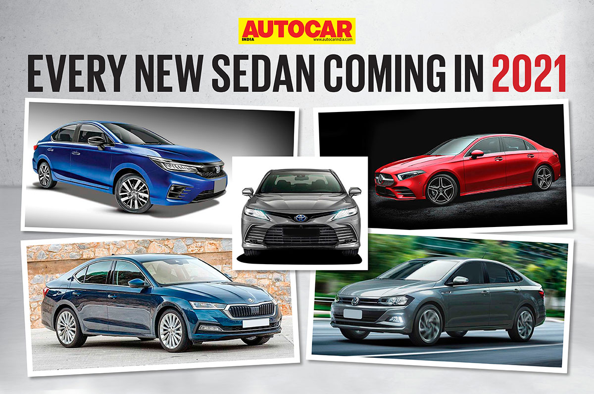 New sedan cars to launch in 2021 in India - Autocar India