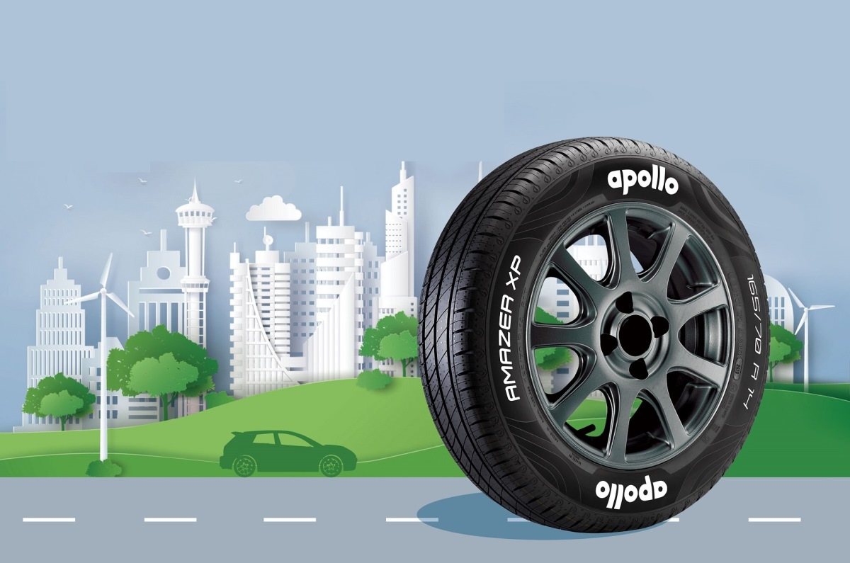 Apollo launches low rolling resistance Amazer XP tyres