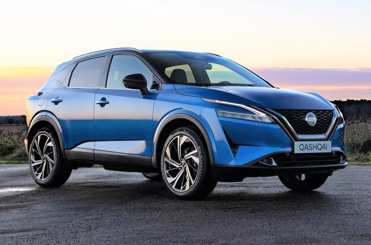 New Nissan Qashqai has been unveiled
