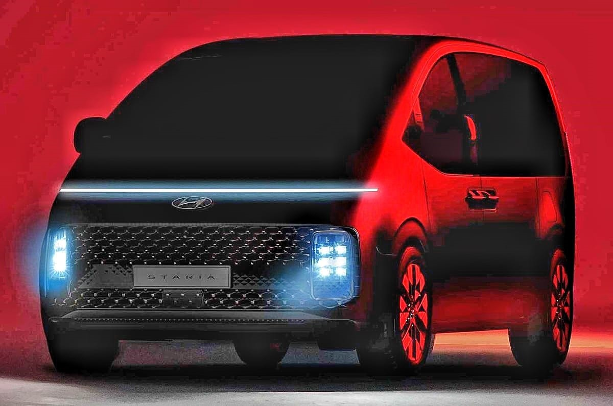 Hyundai Staria MPV first teasers revealed