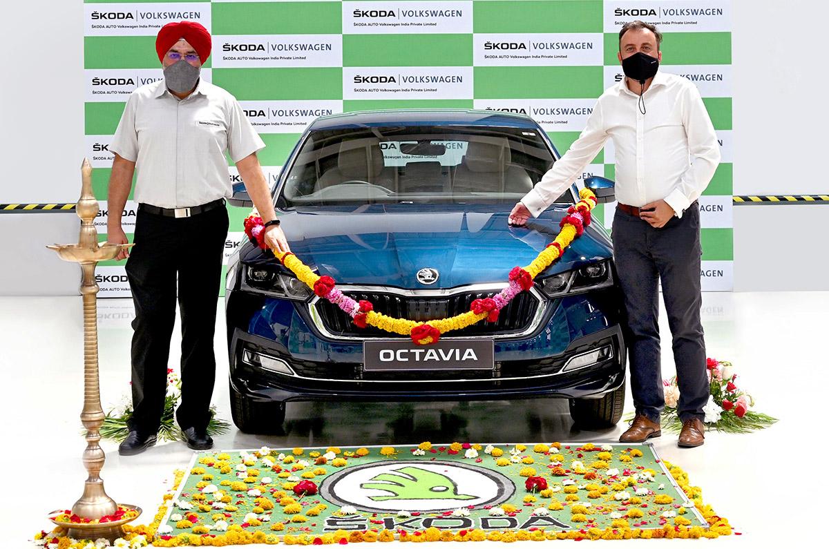 2021 Skoda Octavia India launch soon; production begins ...