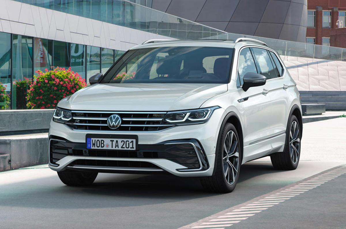 New Volkswagen Tiguan Allspace facelift unveiled - Autocar ...