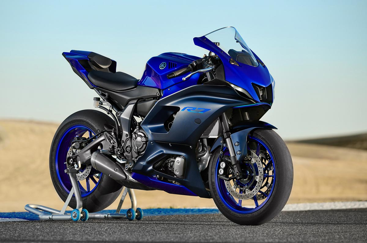 Yamaha takes the wraps off the new YZF-R7 - Autocar India