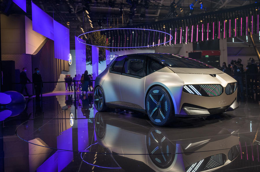 Checkout BMW i Vision Circular concept revealed at Munich motor show 2021
