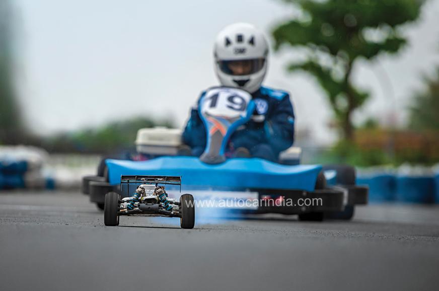Go Kart Vs Rc Car Track Battle Feature Autocar India