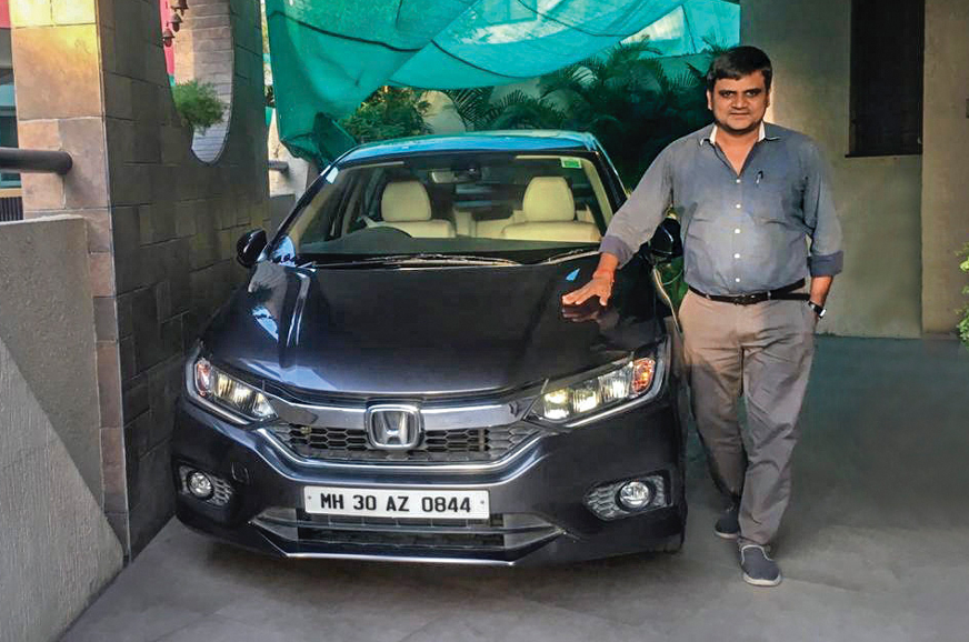 Repeated tyre punctures on a Honda City