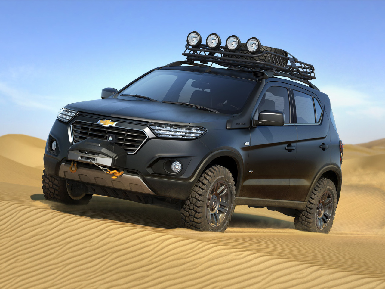 chevrolet niva suv concept photo gallery  autocar india