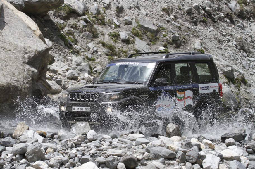 2018 Indian Navy Surf to Snow rally image gallery