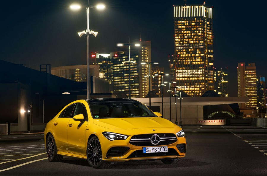 PhotoGallery: New Mercedes-AMG CLA 35 image gallery