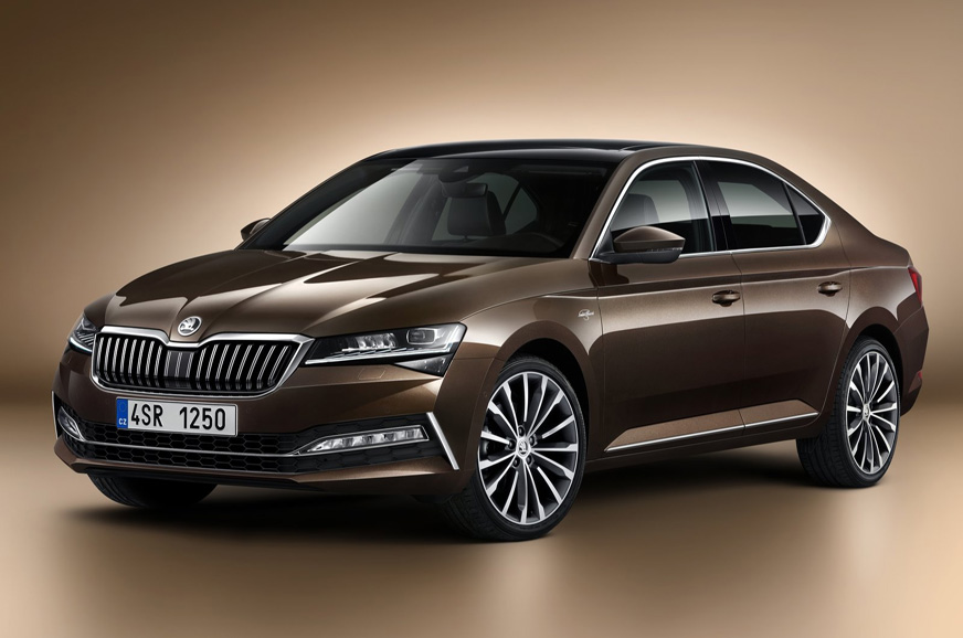 PhotoGallery: Skoda Superb facelift image gallery