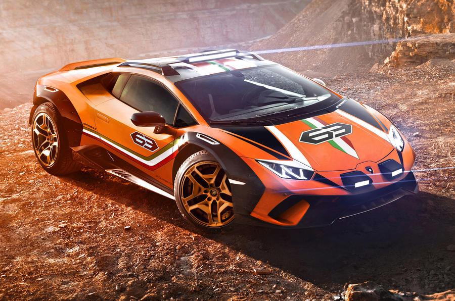 PhotoGallery: Lamborghini Sterrato concept image gallery