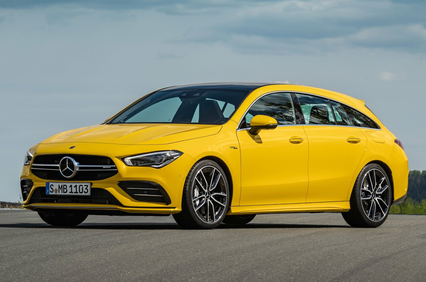 PhotoGallery: 2019 Mercedes-AMG CLA 35 Shooting Brake image gallery