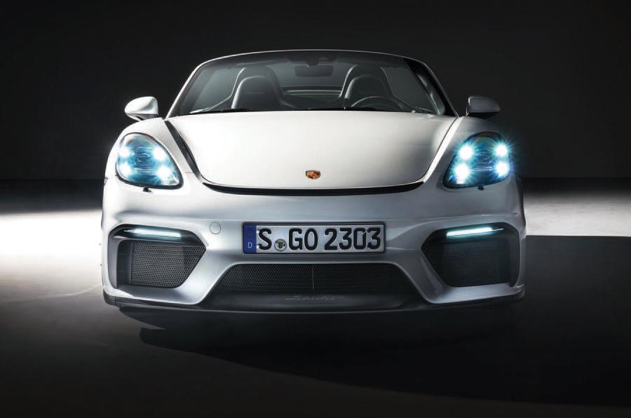 PhotoGallery: 2019 Porsche 718 Boxster Spyder image gallery