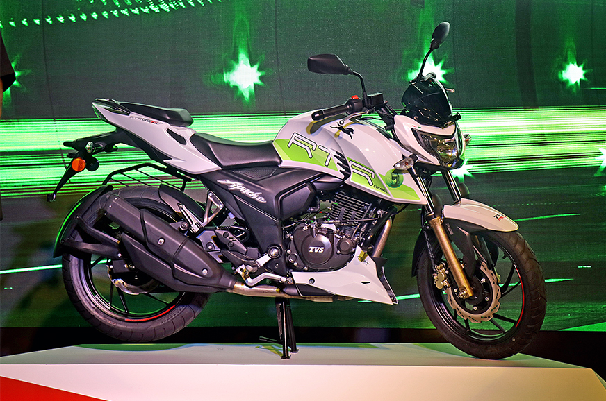 Ethanol-powered TVS Apache RTR 200 Fi E100 image gallery