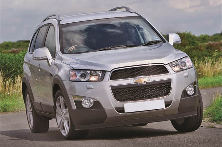 New Chevrolet Captiva Review Test Drive And Video Autocar