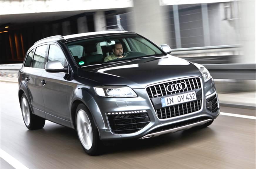 Audi Q V TDI Review Test Drive Autocar India - Audi q7 v12