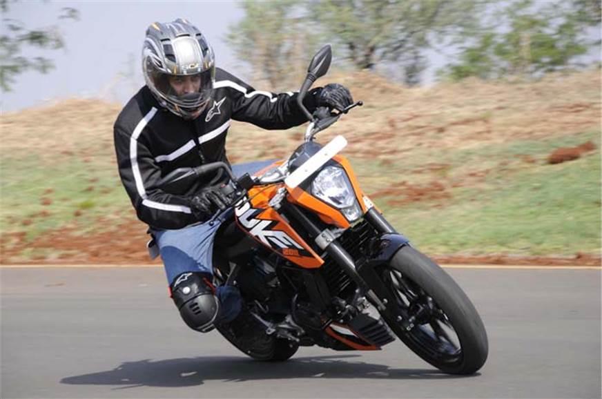 KTM 200 Duke review, test ride - Autocar India