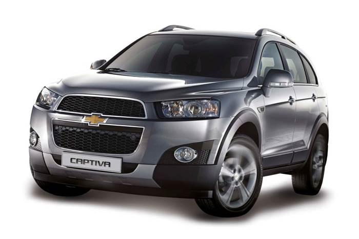 Chevrolet launches updated Captiva - Autocar India on 2012 chevrolet orlando, chevy captiva, 2012 chevrolet sonic, 2012 chevrolet prizm, 2012 ford captiva,