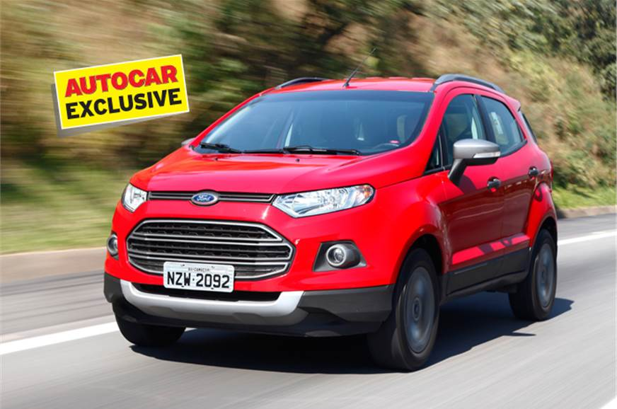 ford ecosport review test drive and video autocar india. Black Bedroom Furniture Sets. Home Design Ideas