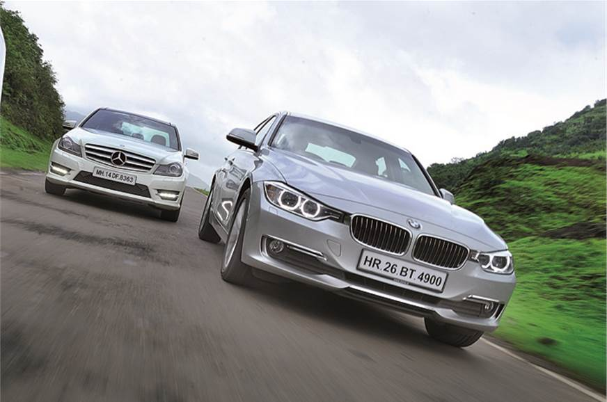 BMW 320d v Audi A4 2 0TDI v Merc C250 CDI - Feature - Autocar India