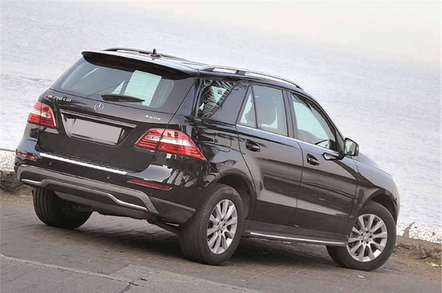 mercedes ml 250 cdi review test drive autocar india. Black Bedroom Furniture Sets. Home Design Ideas