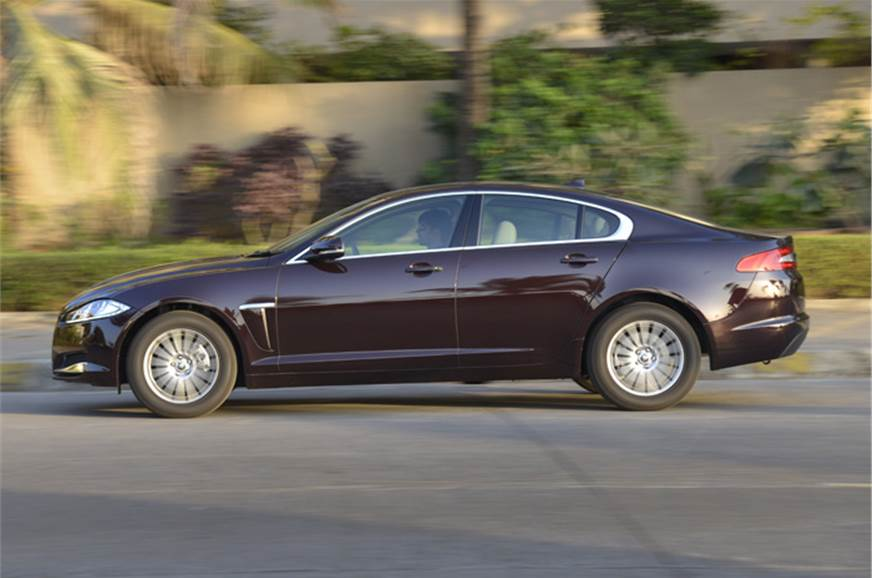 New Jaguar XF 2.2 sel review, test drive and video - Autocar India