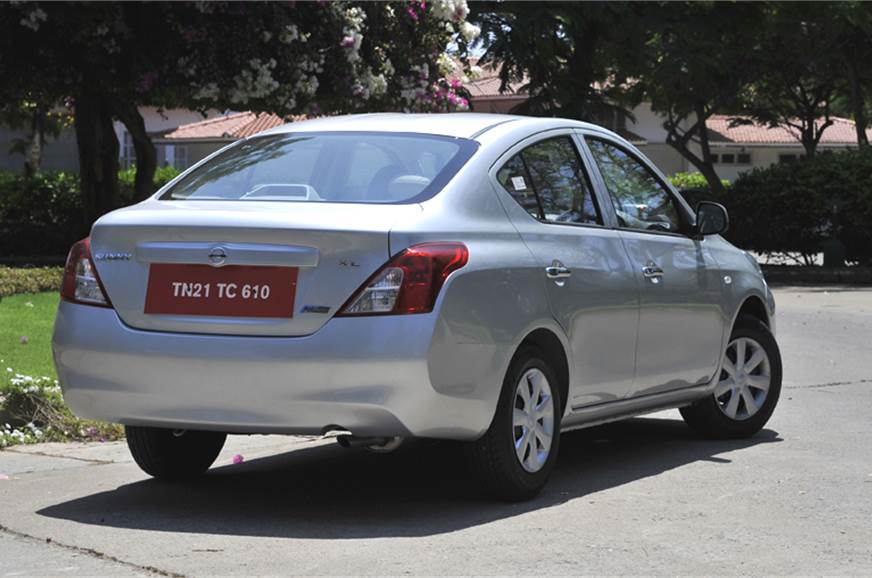 Nissan Sunny Automatic review, test drive and video - Autocar India