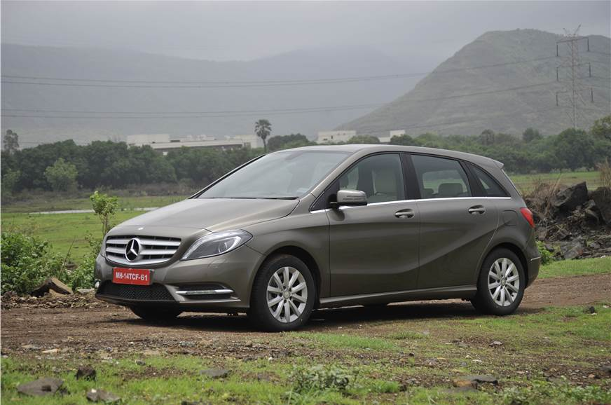 2013 Mercedes B 180 Cdi Review Test Drive Autocar India