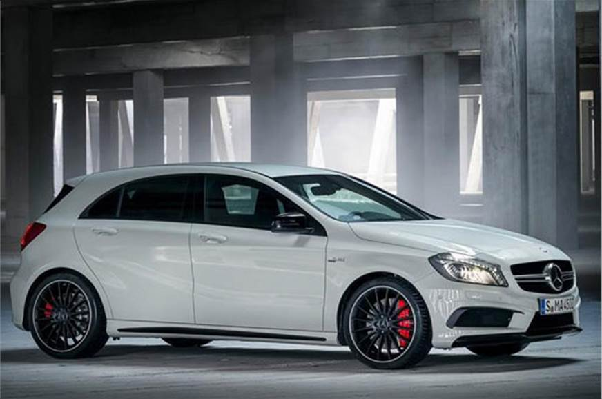 Mercedes A45 Amg On The Cards Autocar India