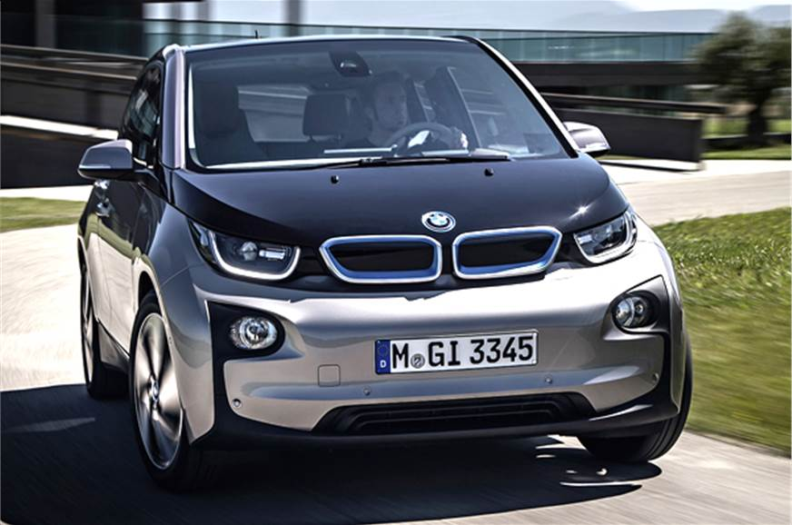 Bmw I3 Electric Car Unveiled Autocar India
