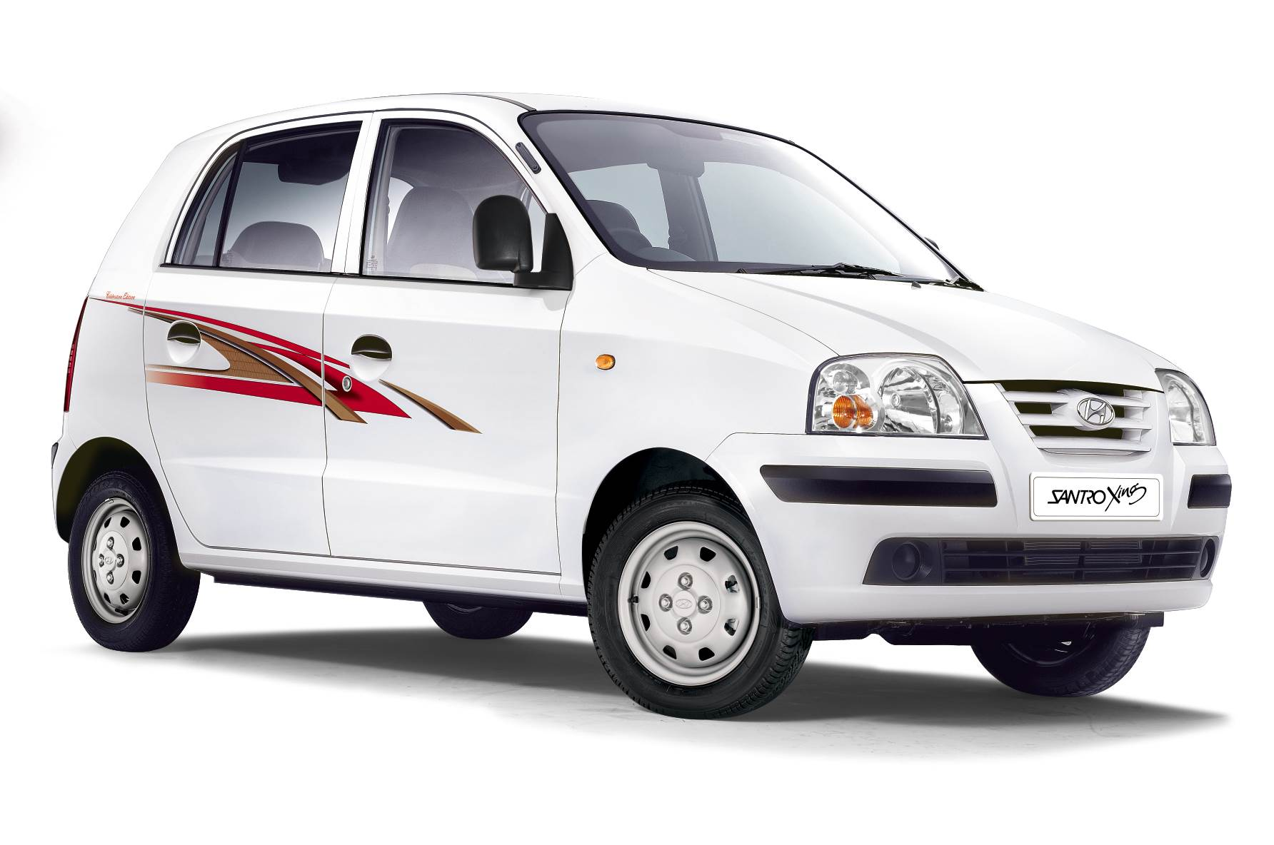 Hyundai launches celebration edition santro xing