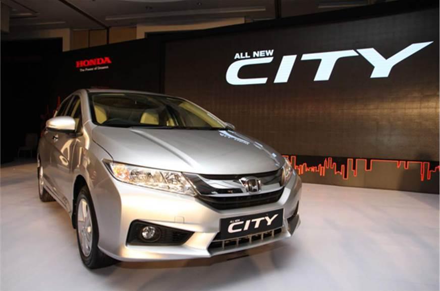 All New 2014 Honda City A Closer Look Autocar India