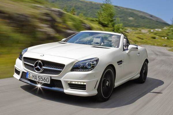 Mercedes Slk 55 Amg Launched In India At Rs 1 26 Crore