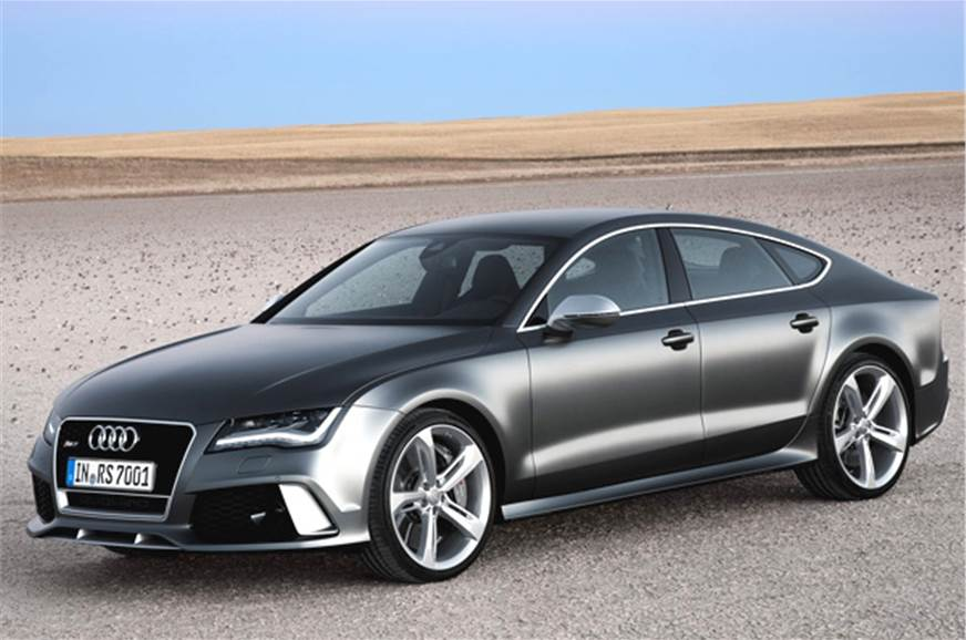 new audi rs7 to launch on jan 6, 2014 - autocar india