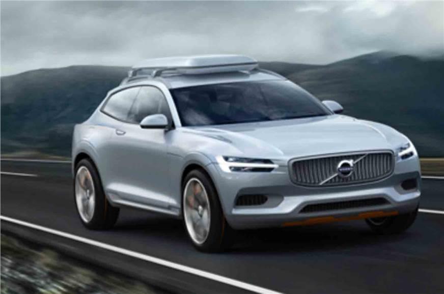 New Volvo Concept Xc Suv Leaked Autocar India