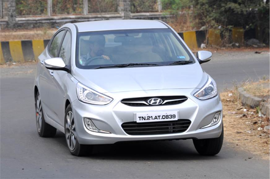 The 2014 Hyundai Verna Gets Minor Styling Updates But
