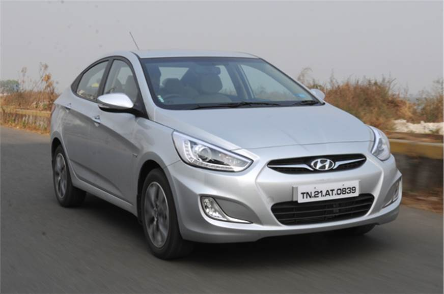 The 2014 Hyundai Verna Gets Minor Styling Updates But There Are No Changes To Engine And Transmission