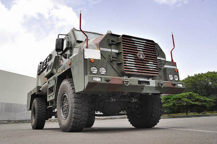 Tata Motors sells military vehicle business to sister firm ile ilgili görsel sonucu