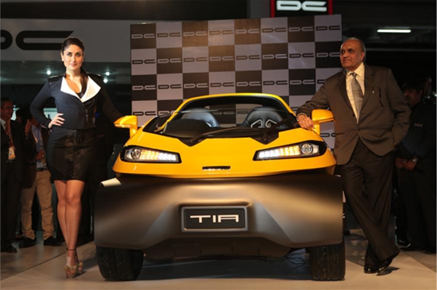 Dc Design Reveals Its Eleron Suv And Tia Two Seater Autocar India