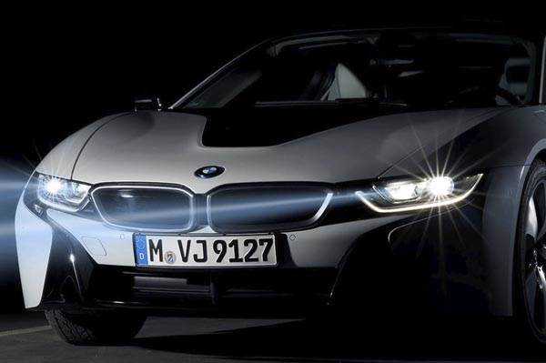 India Bound Bmw I8 To Come With Laser Lighting Tech Autocar India