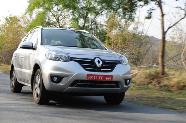 renault koleos automatic facelift review, test drive - autocar india