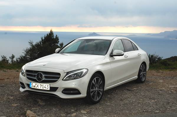 2014 new mercedes c class review test drive autocar india - Mercedes c class coupe 2014 ...