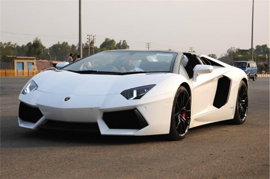 Lamborghini Aventador Roadster India Review Test Drive Autocar India